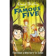 Five Have A Mystery To Solve: Book 20 (Famous Five), Blyton, Enid, New