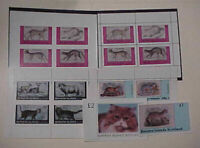 SCOTLAND LOCAL POST CATS  2 SHEETLETS also 5 IMPERF & 5 PERF SHEETLETS MINT NH
