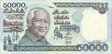 INDONESIA 50000 RUPIAH SINGLE UNC BANK NOTE 1995