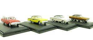 Road Ragers Australian Ford Falcon Set XT, XK, XL Wagon XM Coupe Scale 1:87