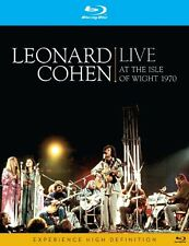 LEONARD COHEN: LIVE AT THE ISLE OF WIGHT 1970 - DVD BLU-RAY **FREE UK POSTAGE**
