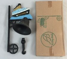 Vintage TITANIC Cast Iron Bell - Wall or Post Mount by Ashley Belle, Ship - NOS