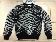 Saint Laurent Paris Tiger Sweater Sz S YSL SLP Hedi Slimane Raf Crewneck