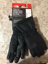 The North Face Youth Montana Gore-Tex Gloves TNF Black S New