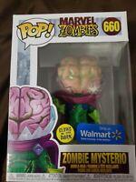 Funko POP! Marvel Mysterio Zombie #660 Walmart Exclusive Glow In The Dark GITD