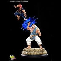 POP CULTURE SHOCK Street Fighter Gouken Vs Akuma Exclusive Diorama Statue NEW