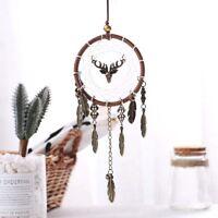 Handmade Feather Dream Catcher Circular Wall Interior Home Hanging Decoration