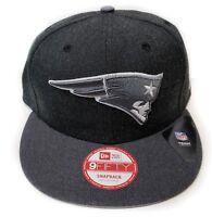 New England Patriots New Era 9Fifty Charcoal Action Snapback Hat Cap Gray NFL