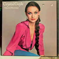 """CRYSTAL GAYLE - Miss The Mississippi - 12"""" Vinyl Record LP - EX (Cheesecake)"""