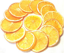 Set of 20 dried slices orange decorative FRUIT craft florist