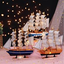 Aus Holz Boots modell Mittelmeer Segelschiff Einrichtung Kunst Handwerk Hobbys