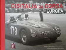 CISITALIA da CORSA Europa, NEW book ULTRA RARE & UNIQUE, Limited Edition