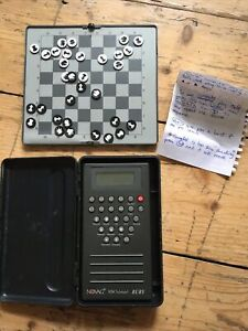 Novag Ruby hand held chess computer