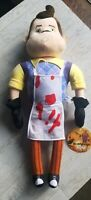 31 Inch Large Hello Neighbor Plush w Bloody Apron Exclusive from PAX West 2019