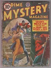 Dime Mystery May 1941 Pulp Weird Menace Yellow Peril Cover William R Cox