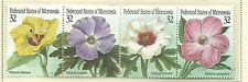 1995 Hibiscus Strip of 4  Complete MUH/MNH as Issued