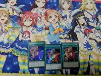 YUGIOH Negate Attack 3X LDK2-ENK33 SDKS-EN032 Playset LEGENDARY DECKS 2