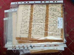 Fragments  Antique Boer War Diary Siege of Kimberley 1899 Hand Written Ephemera