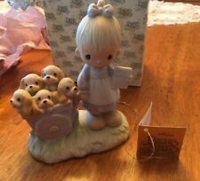 """New ListingPrecious Moments """"God Loveth A Cheerful Giver"""" Excellent Condition w/ Box"""