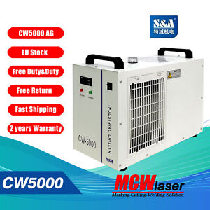 Industrial Genuine Chiller Stock CW-5000 Water From S&A EU
