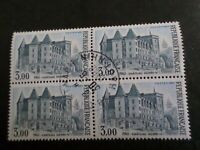 FRANCE 1982, BLOC timbres 2195 PAU, CHATEAU HENRI IV, oblitéré 1° JOUR FDC