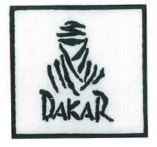 Ecusson toppa Dakar fusibile applicare toppa automobile ricamato