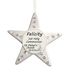 1st Holy Communion - Personalised Star - Religious Gift by Truly for You