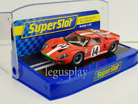 Slot Car Scalextric Superslot S3630 Ford GT40 #14