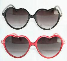 ORIGINAL NEU MOSCHINO Sonnenbrille Herz Form rot weiß