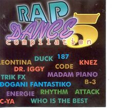 RAP DANCE COMPILATION CD Balkan Disco Duck Trik FX Attack Energie Dr. Iggy Madam