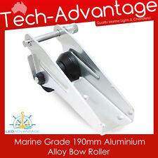 190mm Aluminium Marine Alloy Boat Yacht Anchor Spring Loaded Pin Bow Roller