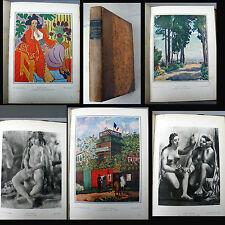 LA PEINTURE FRANÇAISE AU XXe SIÈCLE Charles Terrasse-111 planches photogravure