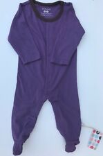 Babysoy Girls Baby One-Piece Purple Size 6-12 M Long Sleeve Snap Closure Outfit