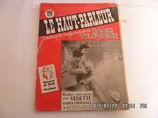 LE HAUT PARLEUR RADIO TELEVISION N°1022 15/12/1959 VEDETTE RADIOCOMMANDEE    H20