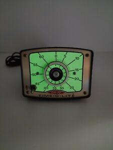 Time-O-Lite Vintage Professional Darkroom Photography Timer Model GR-72