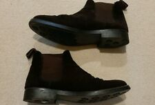 Men's HAMMOND CO Patrick Grant Brown Leather Suede Chelsea Boots UK9 Used VGC