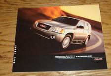 Original 2002 GMC Envoy Sales Brochure 02