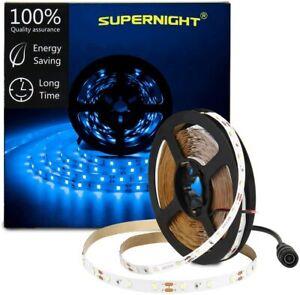 16.4ft Blue LED Light Strip  300 LED Rope Lights For Indoor Party Decoration