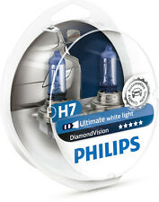 PHILIPS DIAMOND VISION 5000K Ampoules Phare Voiture H7 (Twin Pack) 12972DVS2