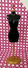 NEW DRESS FORM MANNEQUIN MODEL CLOSET STAND FOR BARBIE DOLL CLOTHING
