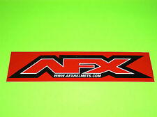 AFX HELMETS MOTOCROSS SNOWMOBILE UTV ATV QUAD MOTORCYCLE TRAILER DECAL STICKER