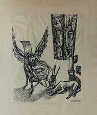Annalies NELCK (1925-2014)née à Nice modèle du peintre Henri Matisse Maeght 1950