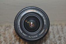 Minolta 28mm f/2.8 MC W Rokkor-X Lens, 35mm SLR Camera