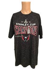 NWT Washington Capitals Fanatics 2018 Stanley Cup Champions T-Shirt Mens L
