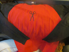 RARE! SCISSOR SISTERS Red W/Black Sleeves Raglan T Shirt Medium American Apparel