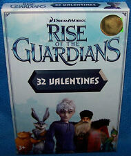 Valentines Day Cards (Box of 32) Dreamworks Rise Of The Guardians