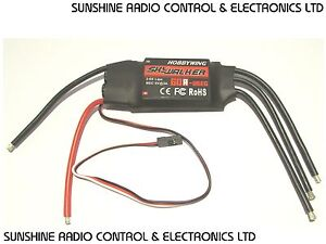 RC 60 amp Electronic Speed Controller BEC Hobbywing Skywalker  60amp ESC New (H)