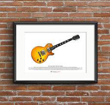 Peter Green's 1959 Gibson Les Paul Standard ART POSTER A3 size