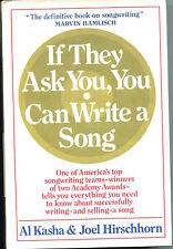 Al Kasha Joel Hirschhorn Oscar Winner Composer Signed Autograph 1st Edition Book