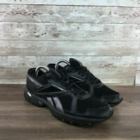 Reebok Advanced Trainer 2 Mens Size 8 Black Athletic Cross Gym Training Shoes